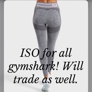 ISO Gymshark workout clothes
